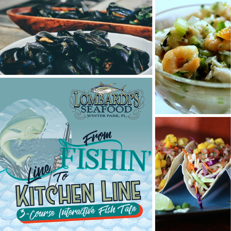 Lombardi's Seafood Exclusive Event